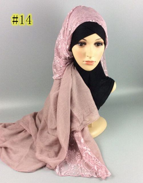 96a1dff96 Scarf Free shipping Cotton Lace fashion shawl cheap scarves factory price  retail wholesale Muslim Wrap Muffler Hijab