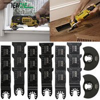 20PCS Oscillating Saw Blades Multitool Kit For Bosch Fein Black & Decker Makita