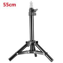 55cm Light Stand Photography Studio Lamp Light Stands Tripod for Flash Umbrella Softbox Photo Studio Accessories Hot Selling