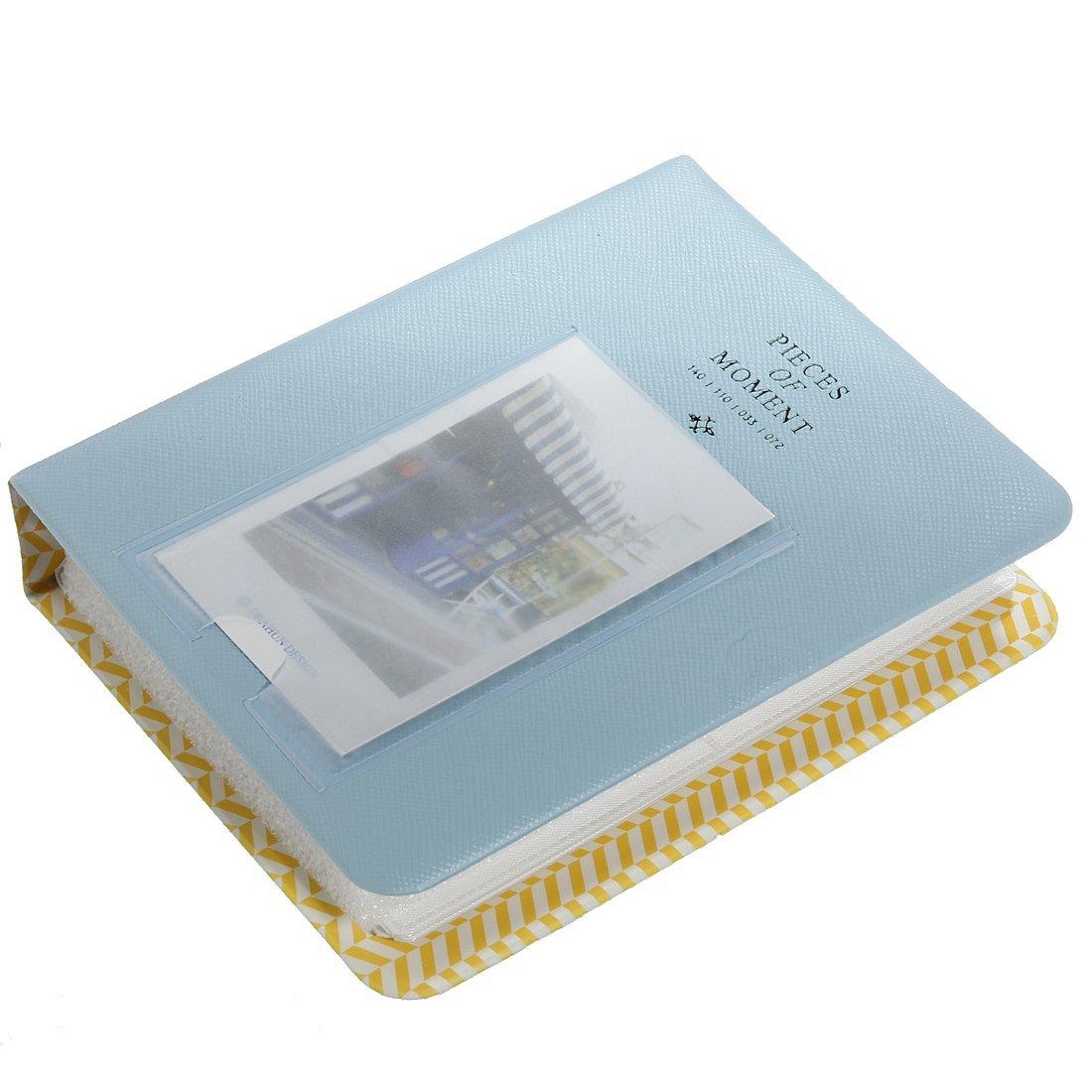 Wohnkultur Hgho-64 Taschen Mini Album-kasten-speicher Für Polaroid Foto Fujifilm Instax Film Größe-blau Erfrischung Haus & Garten