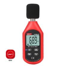 UNI T UT353BT Мини цифровой измеритель уровня звука Bluetooth децибел измеритель шума аудио детектор 30~ 130 дБ Удержание данных ЖК-дисплей подсветка IENV