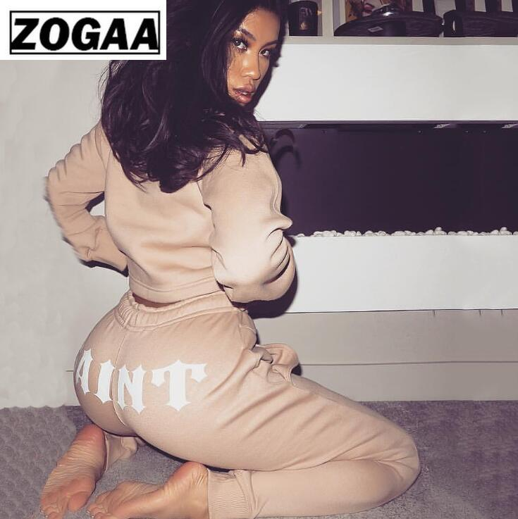 Zogga 2019 Sexy Solid Black/White Bind Halter Female Bikini High-Quality Cotton/Polyester Women Two Piece Outfits For Summer
