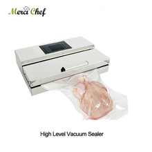 ITOP Food Vacuum Sealer Packaging Machine Semi-commercial Vacuum Sealer Stainless Steel Body Food Processor CE Certification недорого