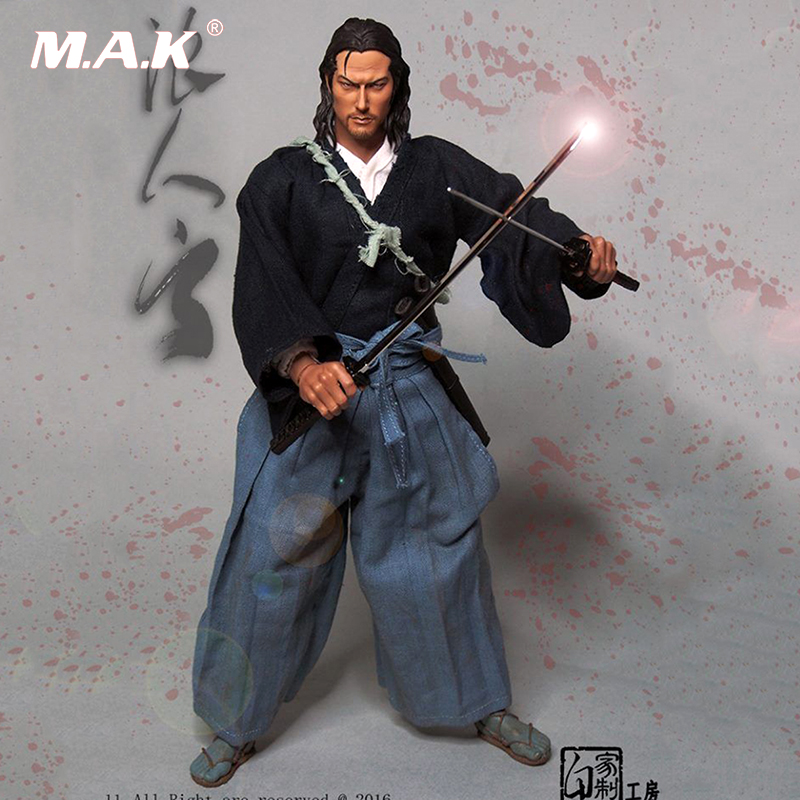 1/6 Scale Ronin Yun Japanese Samurai Male Figure 12