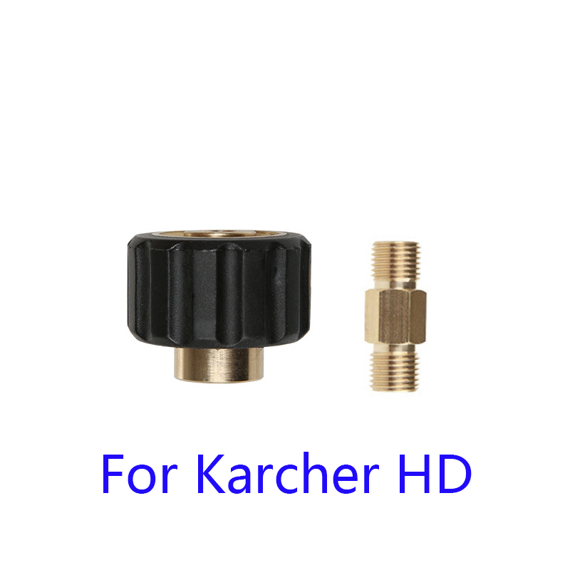Adapter For Nozzle Foam Generator Gun Soap Foamer For Karcher HD M22 Pressure Washer High Quality
