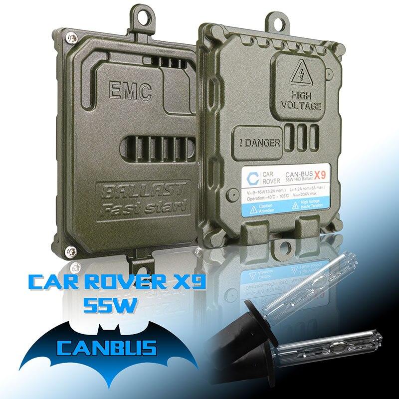 55W HID Xenon Headlight Conversion KIT Bulbs H1 H3 H7 H11 9005//HB3 9006//HB4 -