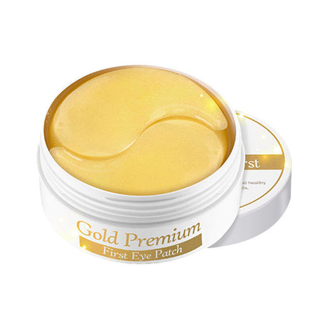 СЕКРЕТНЫЙ КЛЮЧ Gold Premium Первый Глаз Патч 60 шт. Корея косметическая маска для глаз крем для глаз