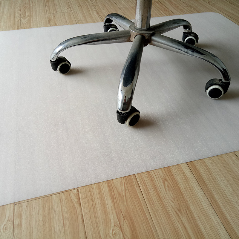 Plastique PE tapis anti-dérapant tapis de Protection de sol carré vert chaise tapis antidérapant bureau chaise pivotante tapis salon tapis