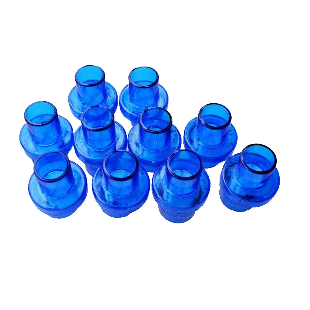 5 Pz/pacco Maschera Cpr Formazione Valvole Con Valvola Unidirezionale W/filtro Di Diametro 22mm Per Cpr Rianimatore Pratica Di Emergenza Per Strumento Di Salvataggio