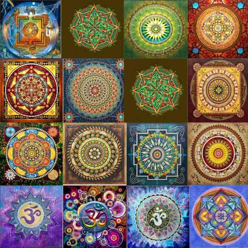 Σύμπαν Mandala Serie Νέο Διαμάντι Σταυρός - Τέχνες, βιοτεχνίες και ράψιμο - Φωτογραφία 2