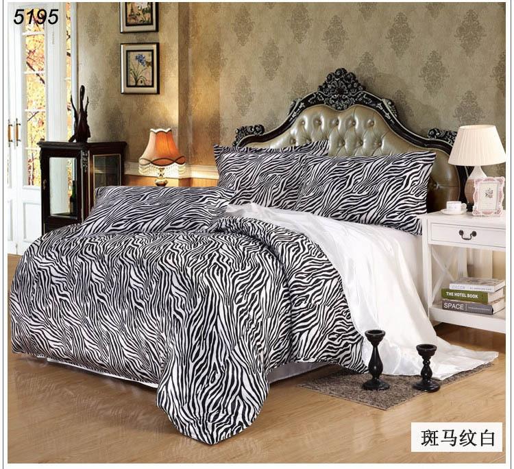 Linge de lit en soie promotion achetez des linge de lit en - Ensemble draps lit double ...