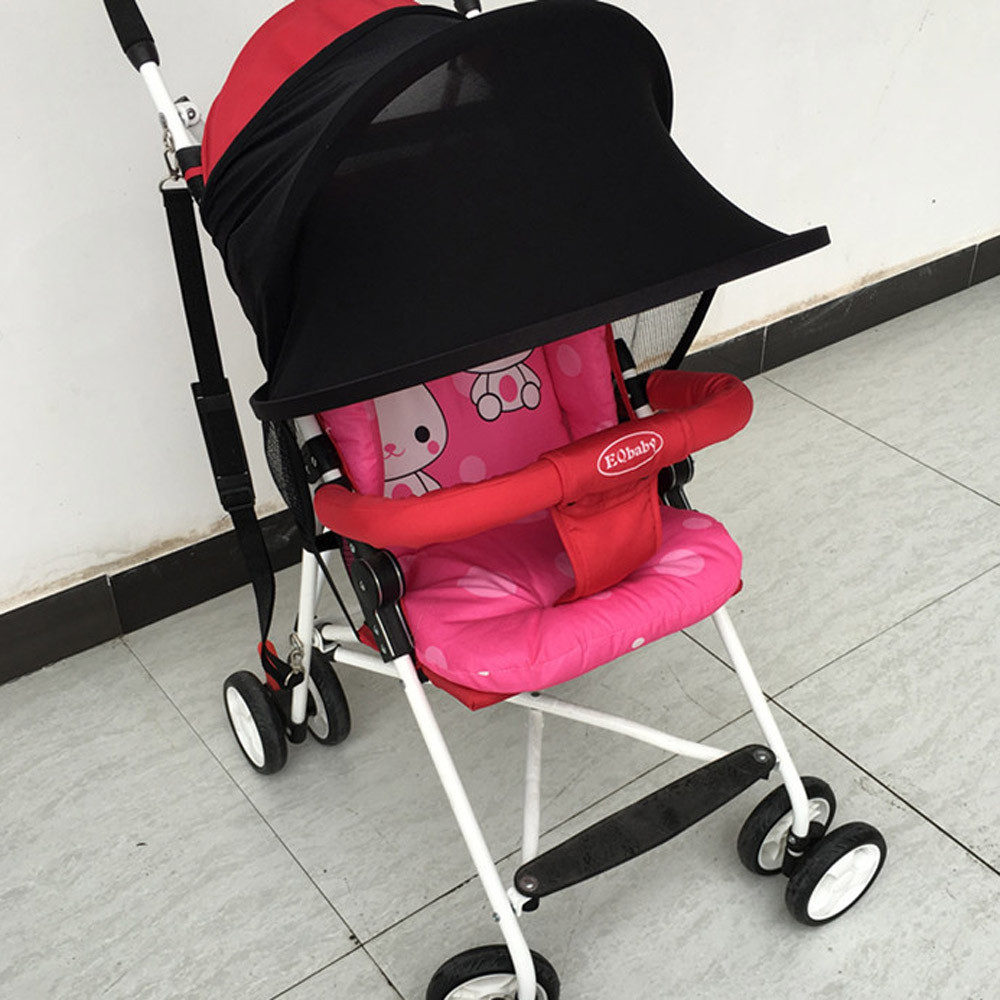 Baby Stroller Sun Visor Carriage Sun Shade Canopy Cover for Prams Stroller Ac CQ