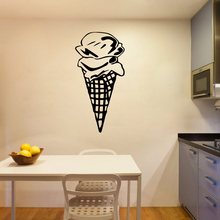 3D ice cream Home Decor Wall Stickers Removable Wall Sticker Art Decoration DIY Home Decor 3d giraffe removable wall sticker home decoration