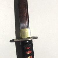 AUWIY 41 мечи меч самурая Красный Дамаск Foled Сталь лезвие японская катана готовый для битвы меч Эспада практическая Sharp Ножи