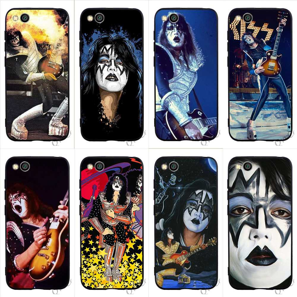 Print Ace Frehley Phone Case for Redmi Note 6 Cover 4X A2 A1 4A Plus 5A Prime 6A 7 5 Pro Xiaomi Mi 9se 9 8 Lite Soft