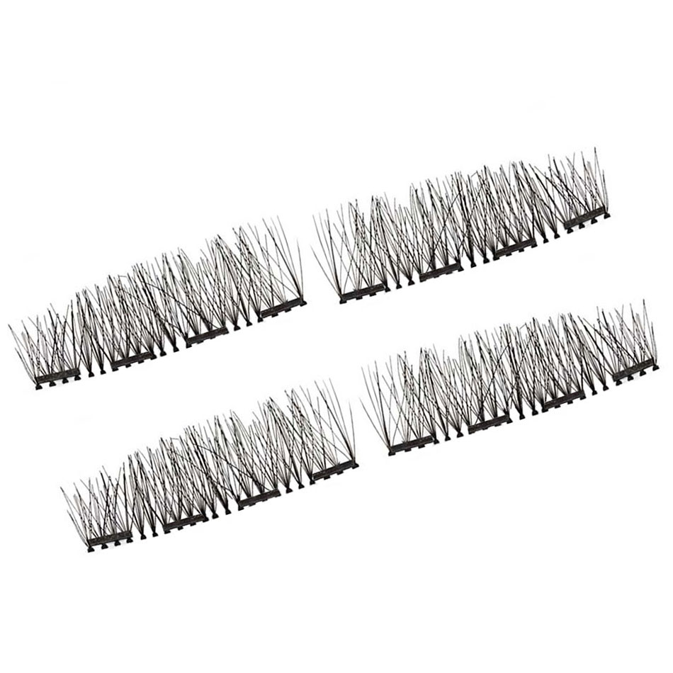 GXO BEAUTY Eyelashes on The Magnet Lashes Extension Kit 4pcs/lot 3D Long Easy To Wear Reusable Four Magnet Fake Eyelashes-F28