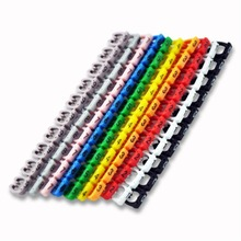 YCDC new Organizer Identification Cable Wire Color Lable MARK Marker EL0413