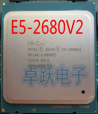 Original Intel E5-2680V2 CPU 2.80GHz 10-core LGA2011 E5-2680V2  E5-2680 V2 Processor free shipping