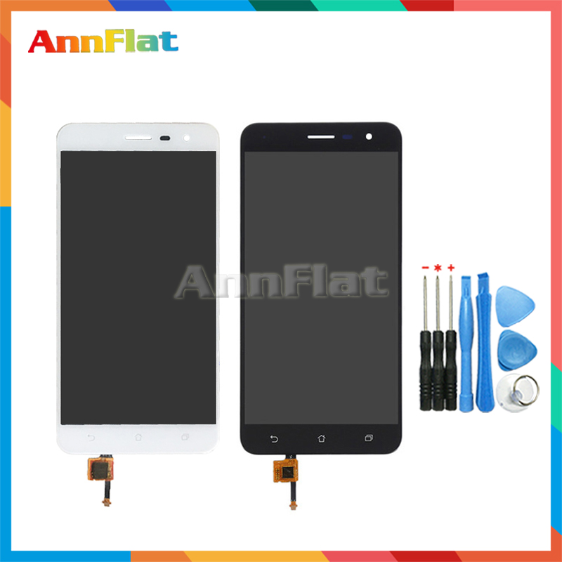 High Quality 5.5'' For <font><b>ASUS</b></font> <font><b>Zenfone</b></font> <font><b>3</b></font> <font><b>ZE552KL</b></font> <font><b>LCD</b></font> <font><b>Display</b></font> Screen With Touch Screen Digitizer Assembly Black White image