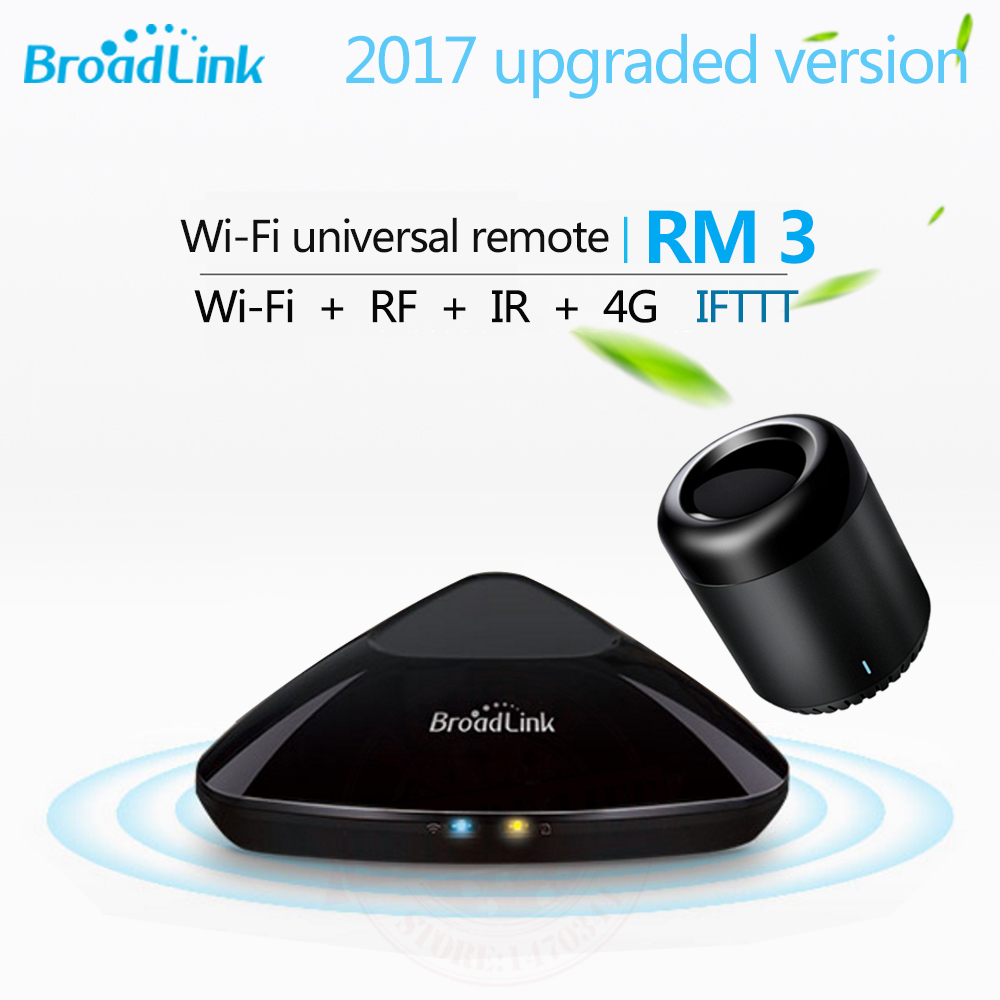 Broadlink RM3 RM Pro+ / RM mini3 Smart Home Automation Universal Intelligent Remote Controller WIFI+IR+RF Switch For iOS Android new xiaolei wifi remote smart home automation wifi ir rf universal intelligent remote control for iphone ios android ltech