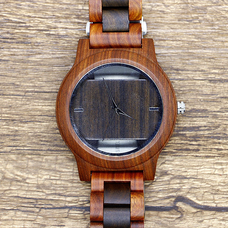 Creative Wood Watch Handmade Bamboo Women Men Simple Casual Analog Quartz Wooden Wrist Watch Reloj de madera fashion top gift item wood watches men s analog simple bmaboo hand made wrist watch male sports quartz watch reloj de madera
