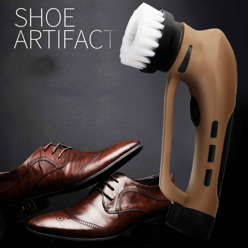 Household automatic Shoe Polishing Equipment machine machinist take charge electric brush shoes brus NEW