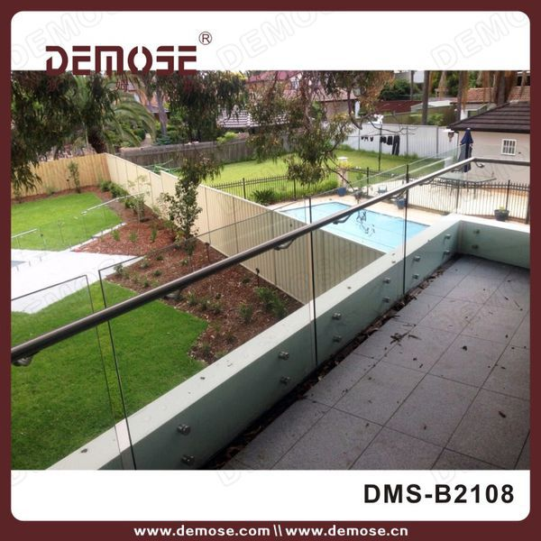 Tempered Glass Deck Railingexterior Glass Railingsbalcony Railing