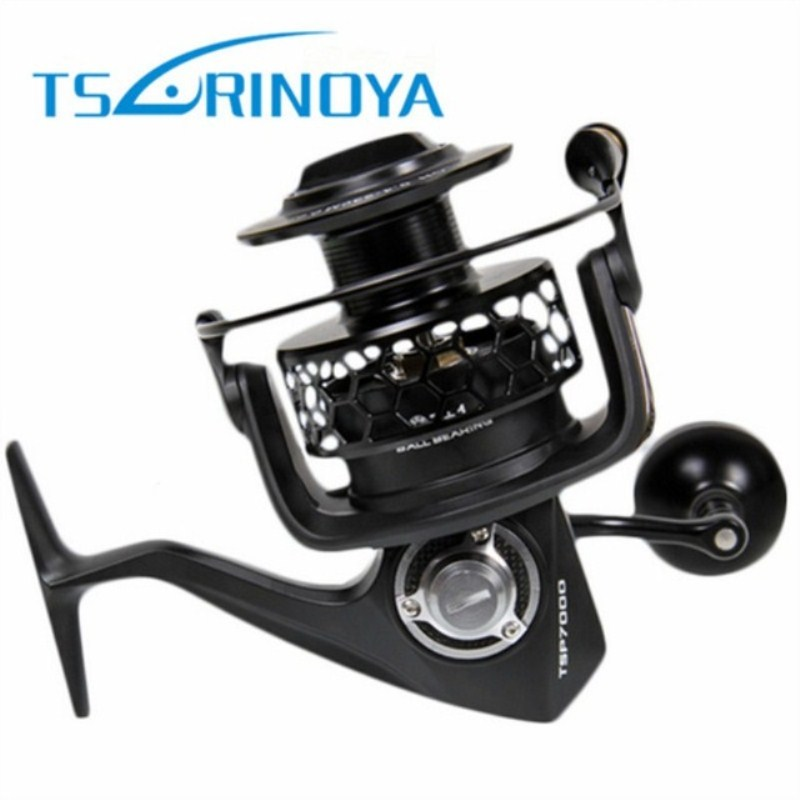 Tsurinoya TSP7000 4.9:1 7+1BB 20kg Max Drag Spinning Fishing Reel 500g Jig Boat Distant Wheel Ocean Boat Rock Lure Wheel Coil dt 280