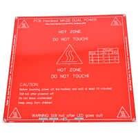 JETTING haute qualité rouge 3D imprimante PCB lit chauffant MK2B lit chauffant plaque chauffante pour Prusa & Mendel MK2A
