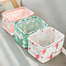 Desktop Storage Basket Cute Printing Waterproof