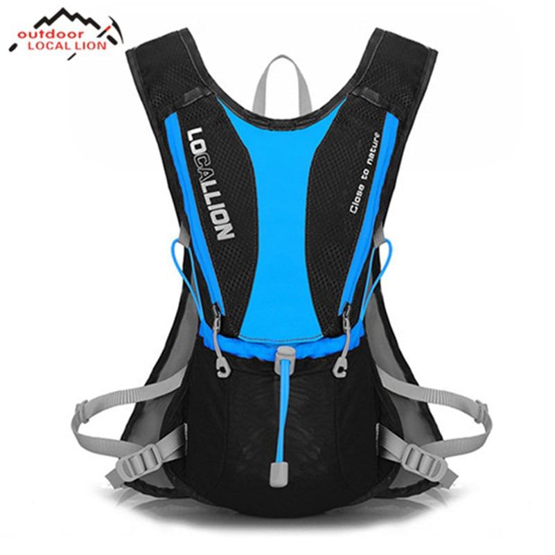 купить LOCAL LION Cycling Bag Backpack Road MTB Bike Shoulder Bag Sport Hiking Water Bladder Bag Duffle Bike Bicycle Cycling Bag по цене 1555.1 рублей