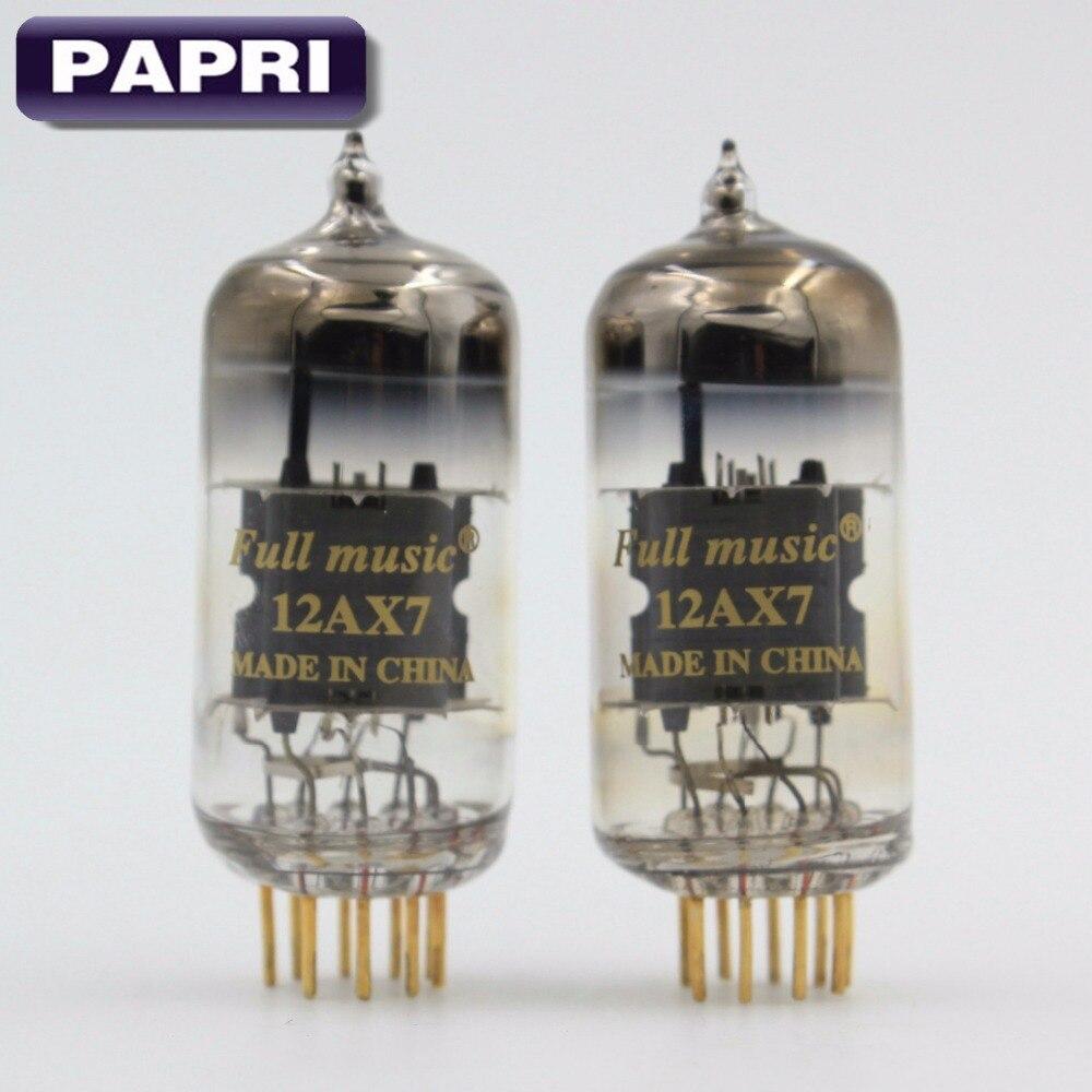 PAPRI Vacuum Tube For 12AX7 ECC83 HIFI Audio TJ Fullmusic HiFi Tube Replacement Preamplifier Amplifier Lot