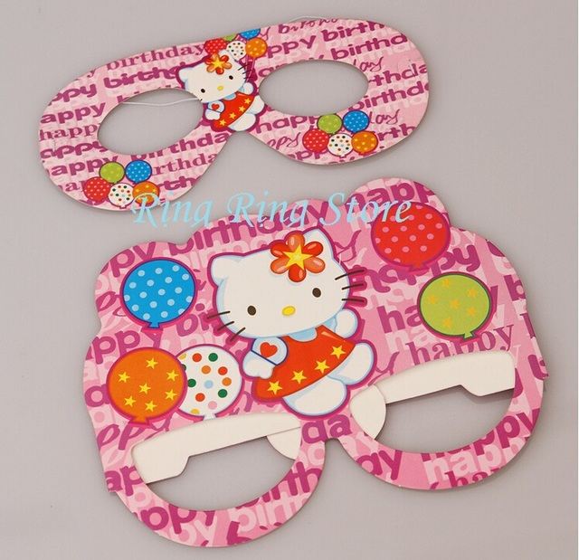 New Arrival Cute Hello Kitty Eye Mask For Kids Birthday Party Or Any