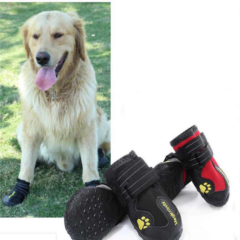 Zapatos para mascotas de estilo nuevo, zapatos antideslizantes, resistentes al desgaste, Botas de lluvia impermeables, zapatos para perros para