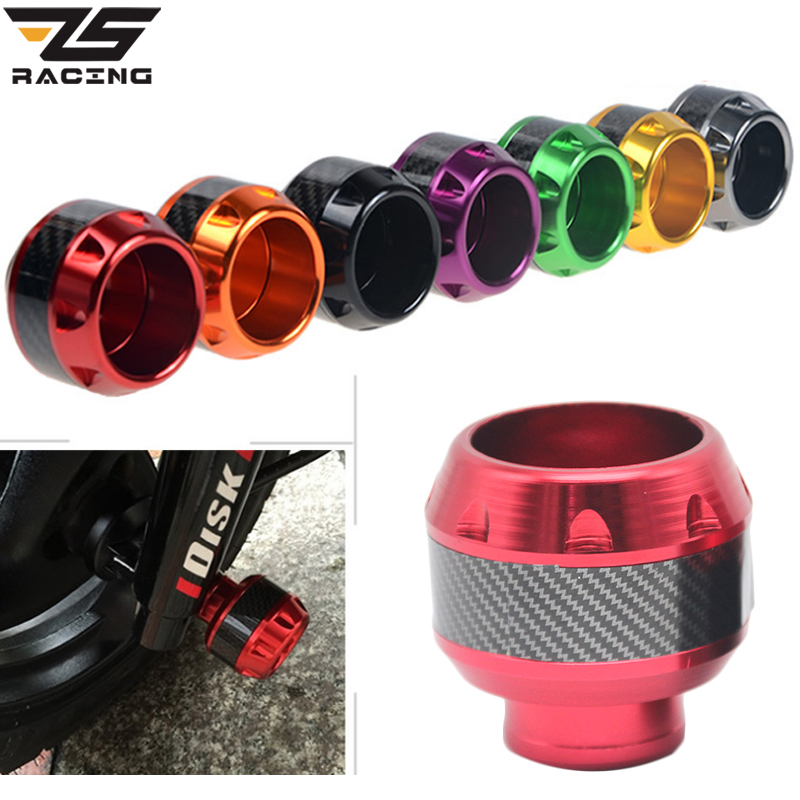 ZS Racing Motocross Front Frame Sliders Motorcycle Crash Pads Anti Collision Cap Universal for Honda Aprilia KTM Yamaha Suzuki ...