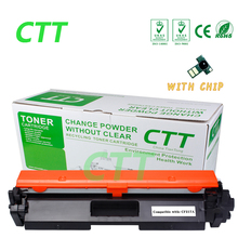 With Chip CF217A 17A 217A Toner Cartridge Compatible for HP LaserJet Pro M102a M102w MFP M130a M130fn M130fw M130nw Printer
