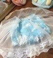 Lolita JK Japón Harajuku pequeña nube apoyo calabaza soplo de la falda de gasa de Hadas de la Fantasía faldas