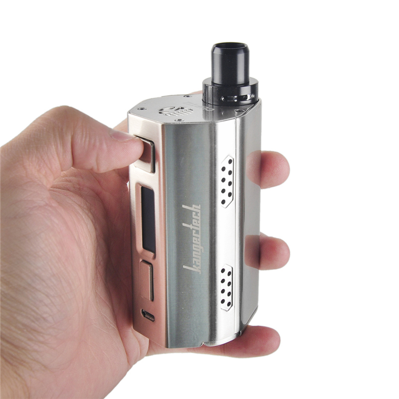 100% Original Kangertech cupti 2 E-Cigarettes kit 5ml Capacity with 80W output Firmware upgradeable 18650 Box Mod 0.5 ohm Coil original kangertech cupti kit 75w tc aio kit with top filling top airflow 5ml atomizer ss316l 1 5ohm clocc coil no 18650 battery
