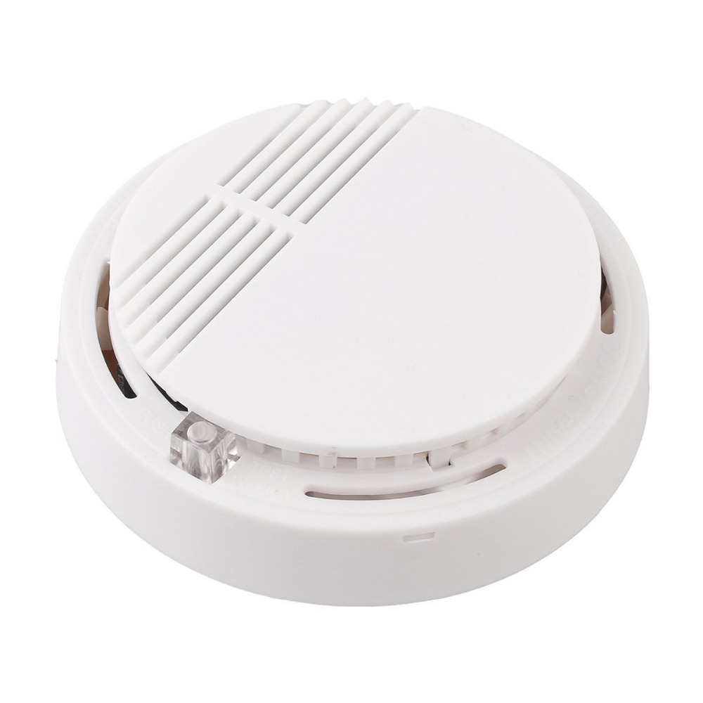 Yobang Security Independant Smoke Sensor Without Battery Fire Smoke Alarm Alert Sensor For Home Security Kitchen Restaurant