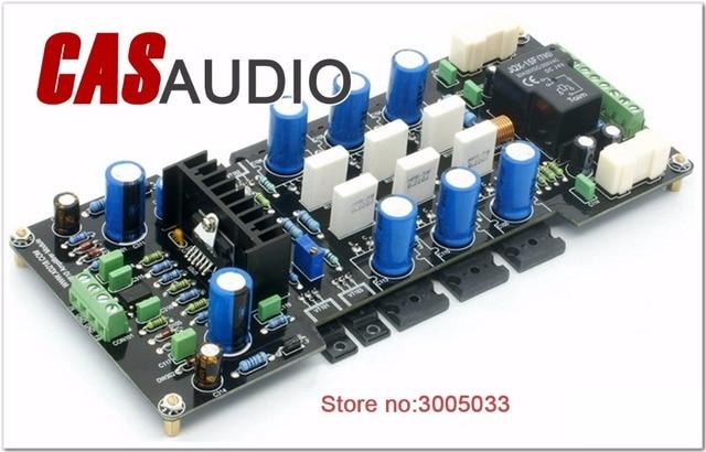 US $53 58 6% OFF LME49810 300W Mono Amplifier Board DC Servo HIFI Amplifier  For DIY Audio LME49810 2SA1943 2SC5200 Transistor Speaker Protection-in
