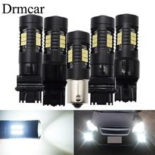 цена на 1pcs P21W LED Bulbs 7443 7440 3156 3157 1156 1157 Car Lights 1200LM Turn Signal Reverse Brake Light R5W 21 Smd 3030 LEDs12V 24V