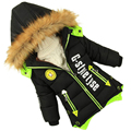 winter jacket boys Male child wadded jacket children's clothing thick jacket coat of long kids parka baby cotton-padded clothes