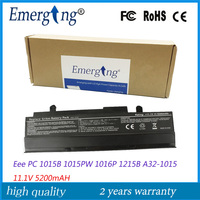 11.1V 5200Mah Japanese Cell New Laptop Battery for ASUS Eee PC 1011BX 1016 1016P 1215P 1215N VX6 Black PL32 1015 A32 1015