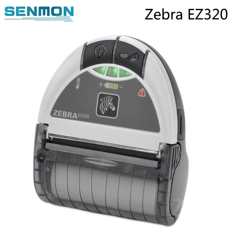 Zebra EZ320 Mobile Barcode Printer with Bluetooth 80mm Protable Thermal Receipt Printer Impressora Multifuncional