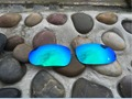 New Emerald Blue Green Jade  Replacement Polarized Lenses for Oakley Juliet Sunglasses 100% UVA & UVB
