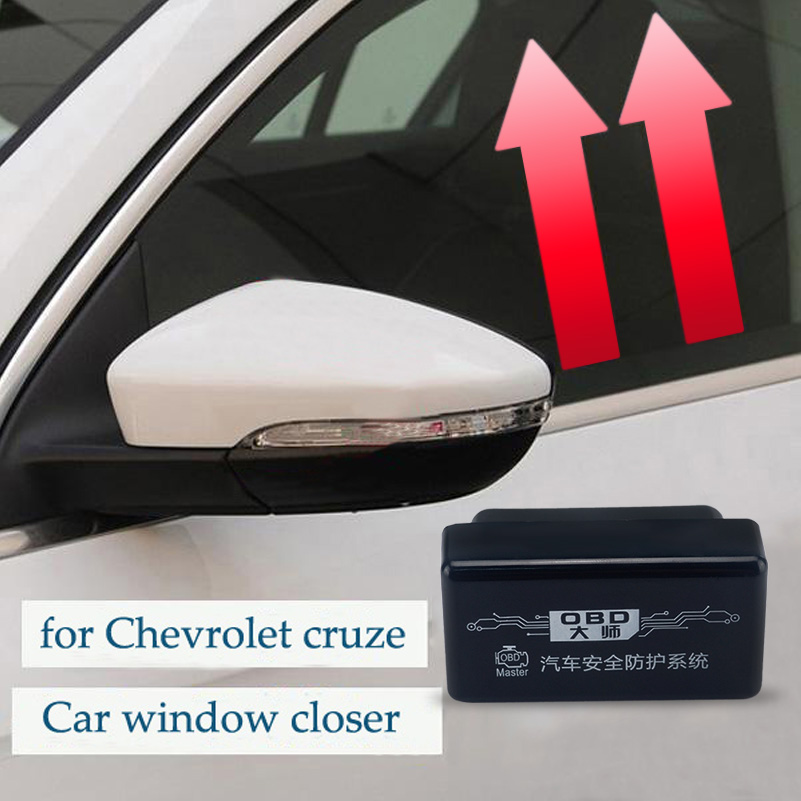 OBD Auto Car Window Closer Vehicle Glass Door Sunroof No Error Opening Closing Module System For Chevrolet Cruze 2009-2014