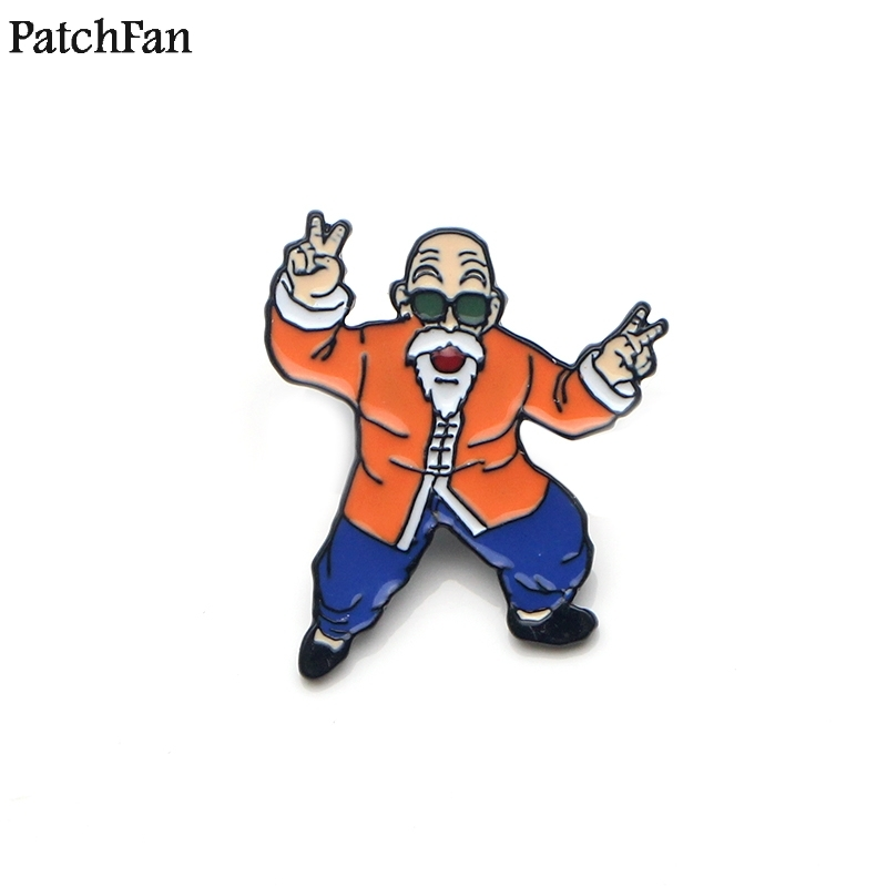 Systematic 20pcs/lot Patchfan Dragon Ball Diy Zinc Tie Cartoon Funny Pins Backpack Clothes Brooches For Men Women Hat Badges Medals A1465 Home & Garden