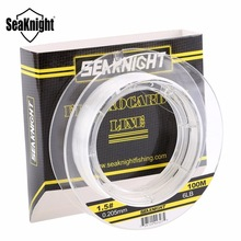 SeaKnight High Quality  Eight sizes  Carbon Fiber Lear Fly Line 3LB-32LB Transparent Sink Line Fluorocarbon Fishing Lines 100m