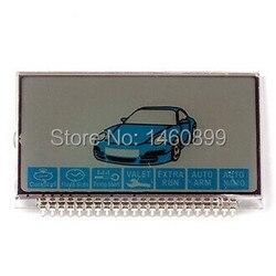 Tamarack LCD Screen display per la Sicurezza Del Veicolo Auto 2 Vie Sistema di allarme Bidirezionale Starline B9 lcd telecomando key fob catena Keychain