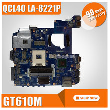 for ASUS K45VJ K45VD A45V A85V K45VS K45VM motherboard QCL40 LA-8221P REV1.0 Mainboard PGA 989 GeForce 610M 2G Ram 100% tested